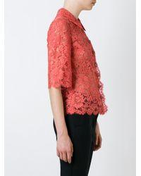 Dolce & Gabbana - Black Lace Shirt - Lyst