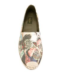 Valentino - Multicolor 'Camubutterfly' Espadrilles - Lyst