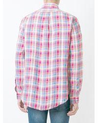 Polo Ralph Lauren - Blue Plaid Shirt for Men - Lyst