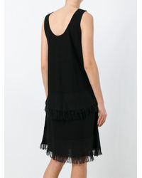 Theory - Black 'jurinzi' Dress - Lyst