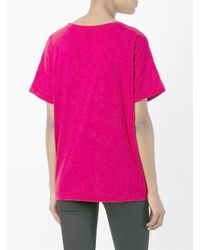 Aspesi - Red Oversized T-shirt - Lyst