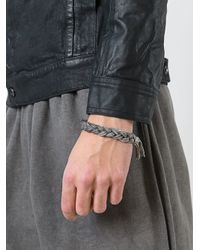 Emanuele Bicocchi | Metallic Braided Bracelet for Men | Lyst