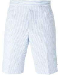 Thom Browne | White Striped Shorts for Men | Lyst
