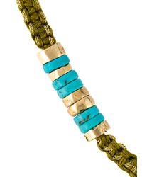 Aurelie Bidermann | Metallic Takayama Wrap Bracelet | Lyst