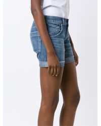 Citizens of Humanity | Blue Gibson Denim Shorts | Lyst