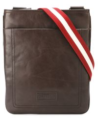 Bally | Brown 'terino' Shoulder Bag for Men | Lyst