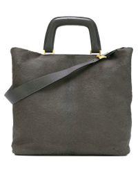 Valextra - Black Medium 'meneghina' Bag - Lyst