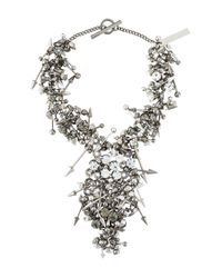 Philipp Plein - Metallic Punk Princess Necklace - Lyst