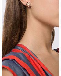 Vivienne Westwood - Pink Shell Earrings - Lyst