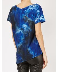 Avant Toi - Blue Tie Dye T-shirt - Lyst