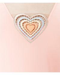 Christopher Kane - Multicolor Love Heart Top - Lyst