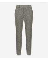 Christopher Kane - Gray Crazy Tweed Tailored Trousers - Lyst