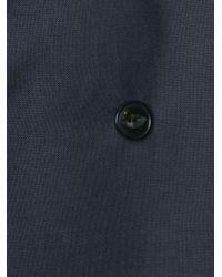 Kolor - Blue Double Breasted Coat for Men - Lyst