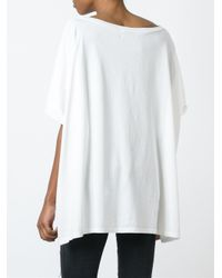 Faith Connexion - White Chest Pocket Oversized T-shirt - Lyst