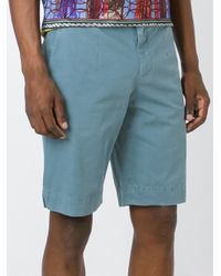 Dolce & Gabbana - Blue Chino Shorts for Men - Lyst
