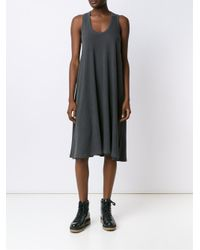The Great - Gray Tank Dress - Lyst