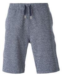 Sunspel | Blue Loop-stitch Cotton Shorts for Men | Lyst