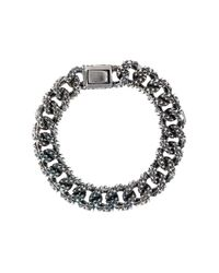 Emanuele Bicocchi   Metallic Spike Chain Bracelet for Men   Lyst