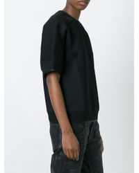Diesel Black Gold Black Fizag Sweatshirt