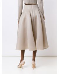 Dominic Louis - Multicolor Printed Mesh Full Skirt - Lyst
