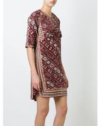 Isabel Marant - Red 'tacey' Dress - Lyst