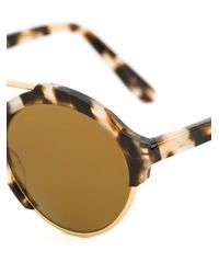Illesteva | Brown 'milan' Sunglasses | Lyst