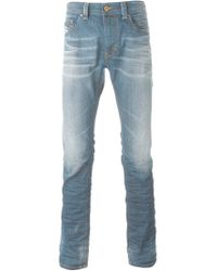 DIESEL | Blue Zatiny 73n Boot-cut Jeans for Men | Lyst