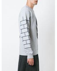 P.a.m. Perks And Mini - Black Mask Print Sweatshirt for Men - Lyst