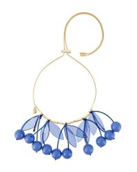 P.A.R.O.S.H. | Blue 'cherry' Necklace | Lyst