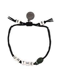 Venessa Arizaga | Black You Re The Bomb Bracelet | Lyst