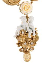 Dolce & Gabbana - Metallic 'angel' Necklace - Lyst