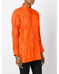 Issey Miyake | Multicolor Crushed Shirt | Lyst