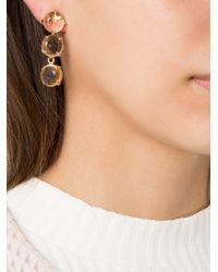 Serpui - Metallic Embellished Earring - Lyst
