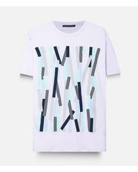 Christopher Kane - Multicolor Broken Bolster Frame T-shirt for Men - Lyst
