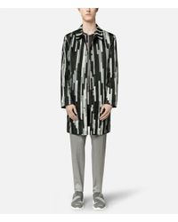 Christopher Kane - Gray Reversible Bolster Print Mac for Men - Lyst
