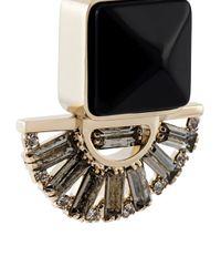 Marni | Black Embellished Drop Earrings | Lyst