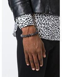 Emanuele Bicocchi - Black Onyx Beaded Bracelet for Men - Lyst