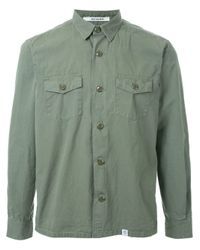 Bedwin And The Heartbreakers - Blue Button Down Shirt for Men - Lyst
