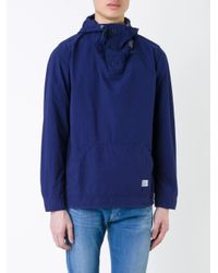 Bedwin And The Heartbreakers - Blue Hooded Shirt for Men - Lyst