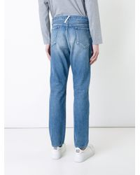 Bedwin And The Heartbreakers - Blue Loose Fit Jeans for Men - Lyst