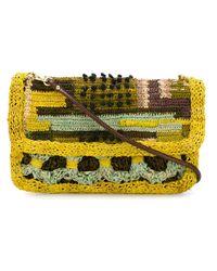 Jamin Puech - Yellow Flap Opening Crossbody Bag - Lyst