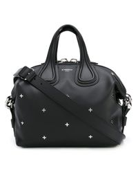 Givenchy - Black Small Nightingale Leather Tote - Lyst
