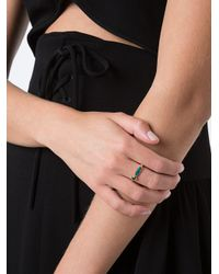 Jacquie Aiche - Metallic '3 Diamond, Opal And Tourmaline' Ring - Lyst