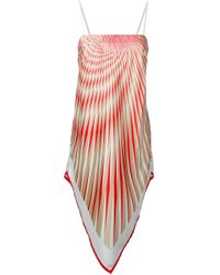 La Perla - Multicolor 'op-art' Foulard Dress - Lyst