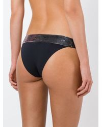 La Perla - Black 'radiance' Bikini Briefs - Lyst
