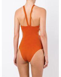 La Perla - Orange 'radiance' Swimsuit - Lyst