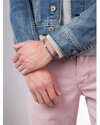 Luis Morais | Blue 14kt Gold Multi Cross Lozenge Bracelet | Lyst