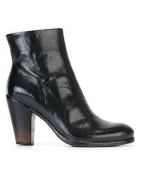 Officine Creative - Black 'pisier' Zip Boots - Lyst