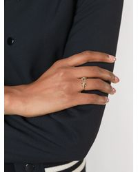 DSquared² - Metallic 'barb Wire' Ring - Lyst