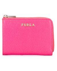 Furla - Pink 'babylon' Wallet - Lyst